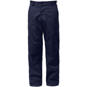 Midnight Blue Military Polyester/Cotton Fatigue BDU Pants