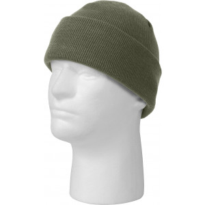 Foliage Green Military Deluxe Winter Beanie Hat Acrylic Watch Cap