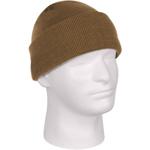 Coyote Brown Military Deluxe Winter Beanie Hat Acrylic Watch Cap