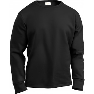 Black ECWCS Thick Cold Weather Crew Neck Shirt Thermal Top Undershirt