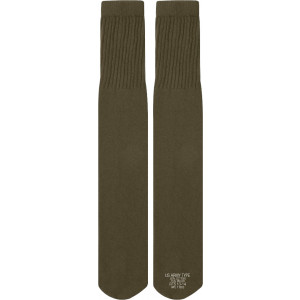 Olive Drab Nyco Military Tube Socks - USA Made