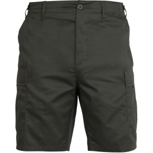 Olive Drab Cargo Military BDU Shorts