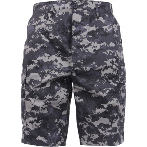 Subdued Urban Digital Camouflage Combat Military Cargo BDU Shorts