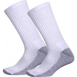 White Cushion Sole Crew Socks