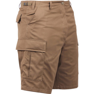 Coyote Brown Cargo Military BDU Shorts