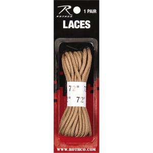 Desert Sand Military Boot Laces 72""