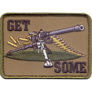 Brown Military Get Some Sniper Patch With Hook Back d8b5fb5ab11