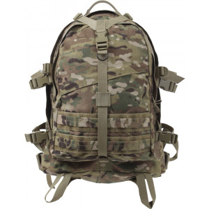 Multi Cam Military MOLLE Large Transport Assault Pack Backpack