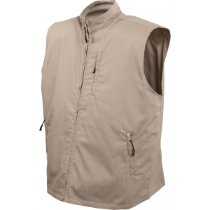 Khaki Undercover Secret Compartment Travel Vest