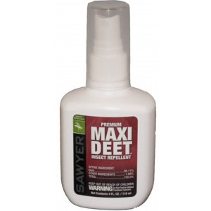 Sawyer 100% Maxi Deet Low Odor Insect Repellent 4 oz