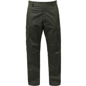 Olive Drab Military Cargo Polyester Cotton Fatigue BDU Pants a912d939ffe