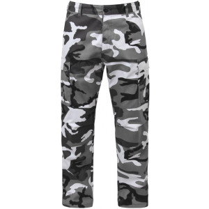 City Camouflage Military Cargo BDU Fatigue Pants
