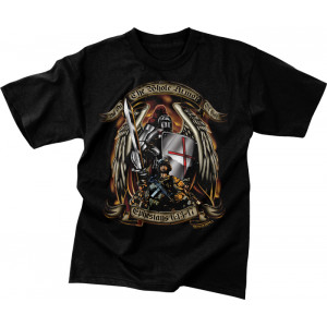 Black Ink Design 'Put on the Whole Armor of God' T-Shirt
