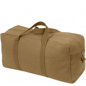 Coyote Brown Canvas Tanker Style Tool Bag