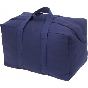 Navy Blue Canvas Small Parachute Cargo Bag