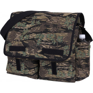 Smokey Branch Camouflage Heavy Weight Classic Messenger Shoulder Bag