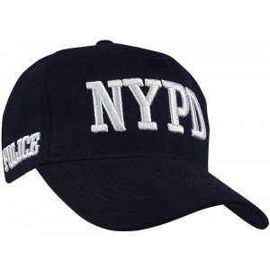 Navy Blue Official NYPD Police Deluxe Adjustable Baseball Cap