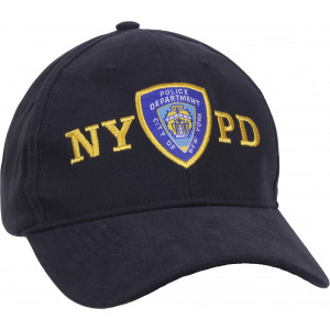 Navy Blue Official NYPD New York Police Department Emblem Baseball Cap