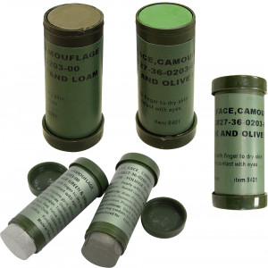 3 Pack - Camouflage NATO Military Paint Sticks