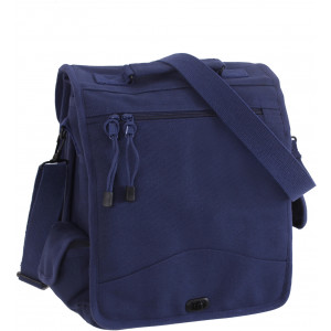 Navy Blue Canvas M-51 Engineers Field Bag
