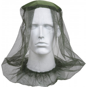 Olive Drab Military Pocket Mosquito Head Net