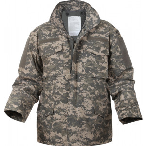 ACU Digital Camouflage Military M-65 Field Jacket