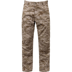 Desert Digital Camouflage Military Cargo BDU Fatigue Pants