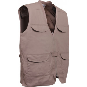 Khaki Lightweight Concealed Carry Vest