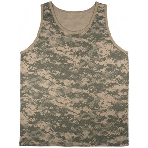 ACU Digital Camouflage Military Physical Training Tank Top