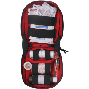 Red Military MOLLE Tactical First Aid Kit Pouch