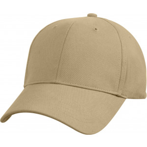 Khaki Solid Supreme Low Profile Adjustable Cap
