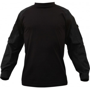 Black Military Heat Resistant Tactical Lightweight Combat Shirt