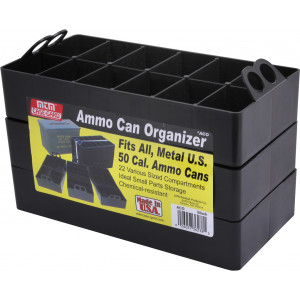 Black MTM Ammo Can Organizer