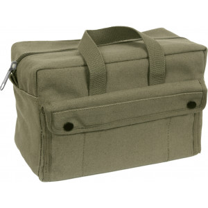 Olive Drab Military Canvas Mechanics Tool Bag