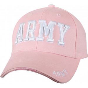 Pink Military US Army Deluxe Low Profile Adjustable Cap