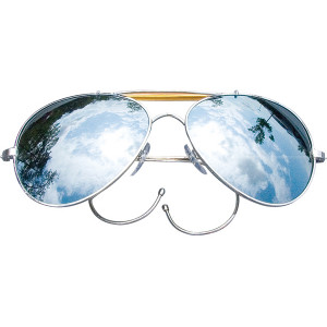 Mirror Lenses Military Air Force Aviator Sunglasses 495859097