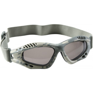 ACU Digital Camouflage Vented Anti-Fog Enhanced Tactical Goggles