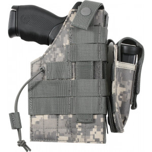 ACU Digital Camouflage Military MOLLE Tactical Ambidextrous Modular Gun Holster
