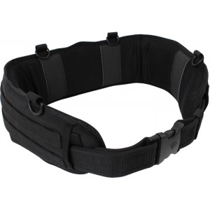 Black Padded Tactical MOLLE Battle Belt