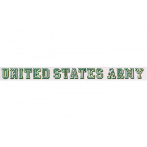 United States Army Long Window Decal
