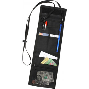 Black Military Deluxe Tactical ID Holder