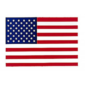 US American Flag Decal (Back Gum) e6b2d84c1bc
