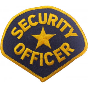 Security Officer Patch