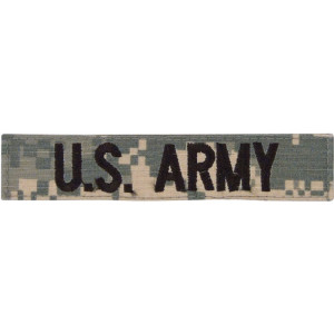 ACU Digital Camouflage US Army Branch Tape Patch