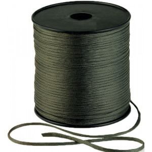 Olive Drab Military Nylon Braided Utility Rope Cord Spool 600'