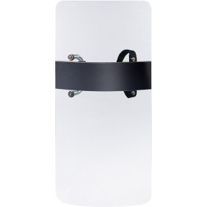 Clear Law Enforcement Protective Riot Shield with Handle