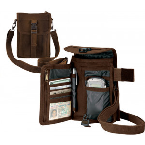 Brown Venturer Travelers Organizing Portfolio Bag
