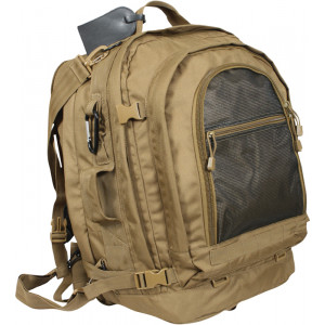 Coyote Brown Military Tactical MOLLE Pack Backpack