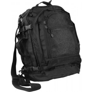 Black Military Tactical MOLLE Pack Backpack