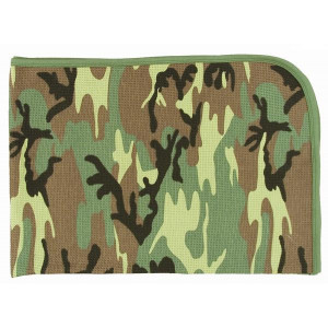 Woodland Camouflage Infant Receiving Blanket
